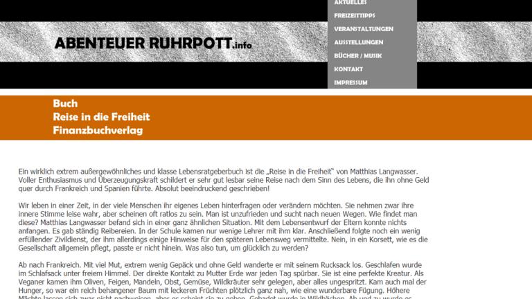 Abenteuer Ruhrpott – Reise in die Freiheit